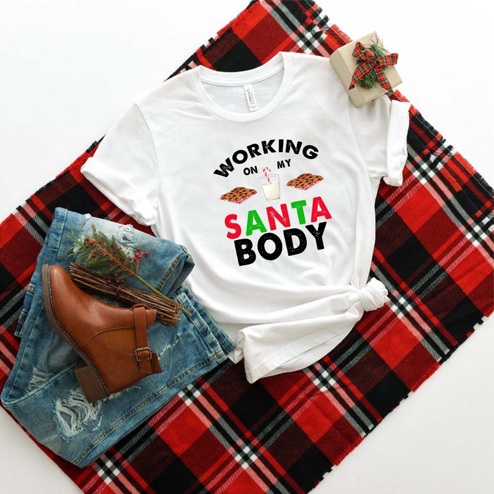 Working On My Santa Body T-