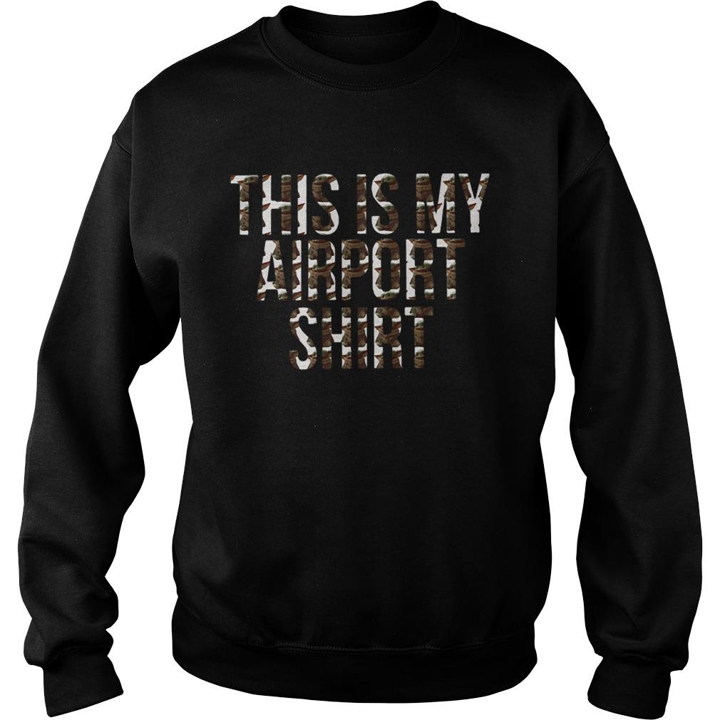 Yoda This Is My Airport  Sweatshirt