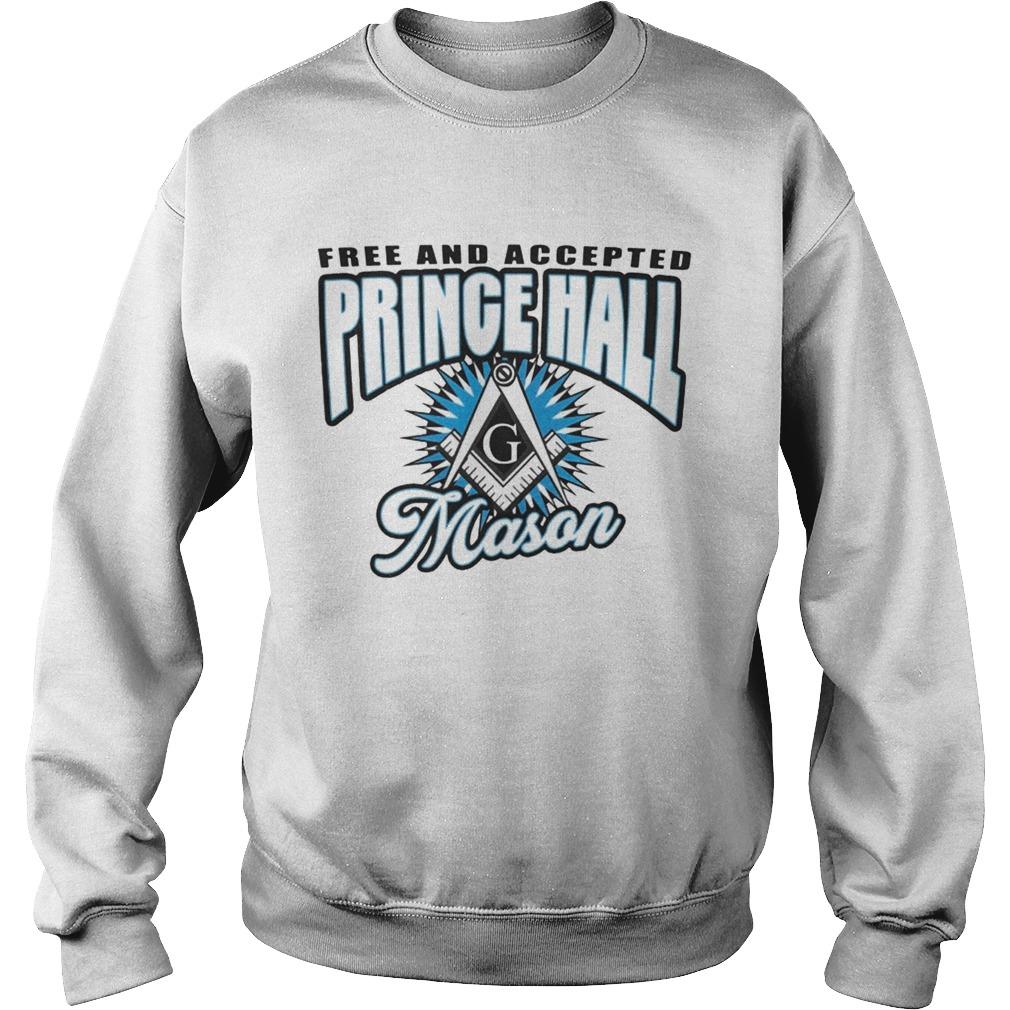 Free And Accepted Prince Hall Mason  Sweatshirt