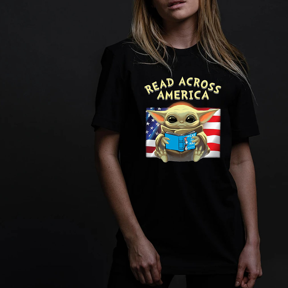 Read Across America Baby Yoda shirt