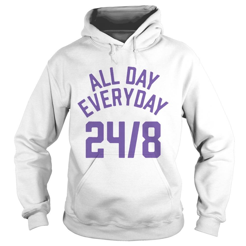All Day Everyday 248 Hoops Legend  Hoodie