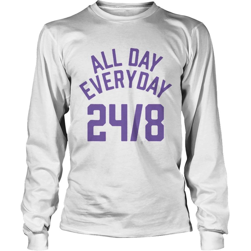 All Day Everyday 248 Hoops Legend  LongSleeve