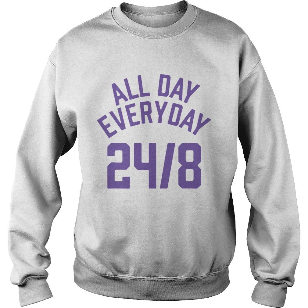 All Day Everyday 248 Hoops Legend  Sweatshirt