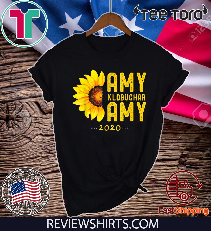 Amy Klobuchar 2020 Vintage Amy For President T-Shirt
