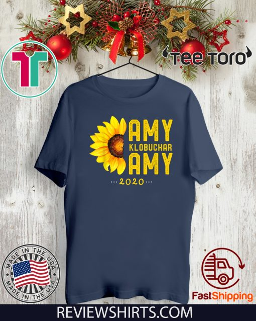 Amy Klobuchar 2020 Vintage Amy For President T-Shirt