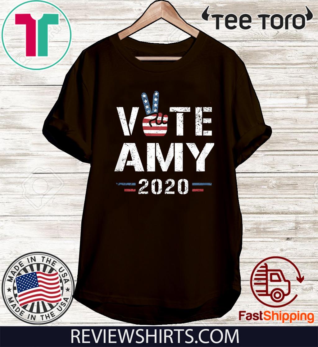Amy Klobuchar for President Men Women Amy Klobuchar 2020 T-Shirt