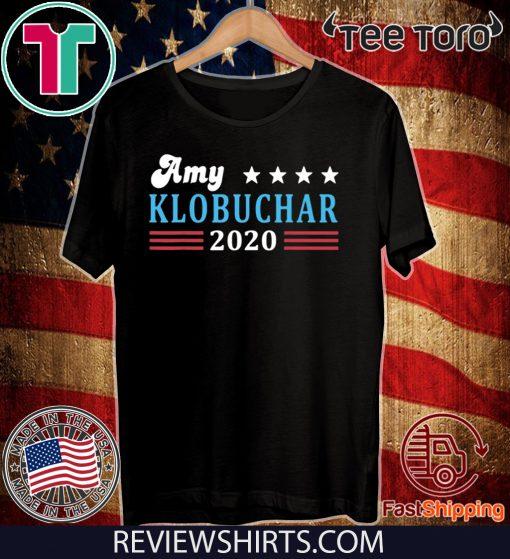 Amy Klobuchar for President Amy Klobuchar 2020 Unisex T-Shirt