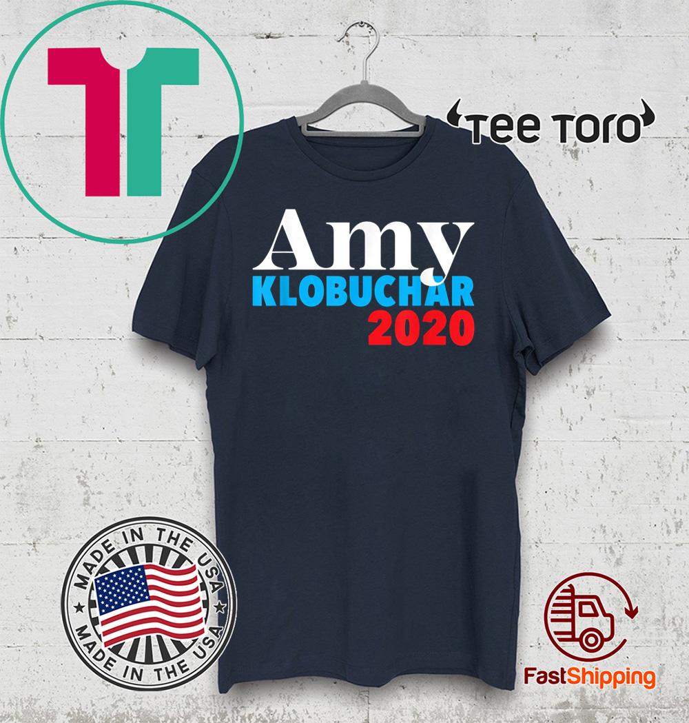 Amy Klobuchar for President Presidential Campaign 2020 Tee Shirt