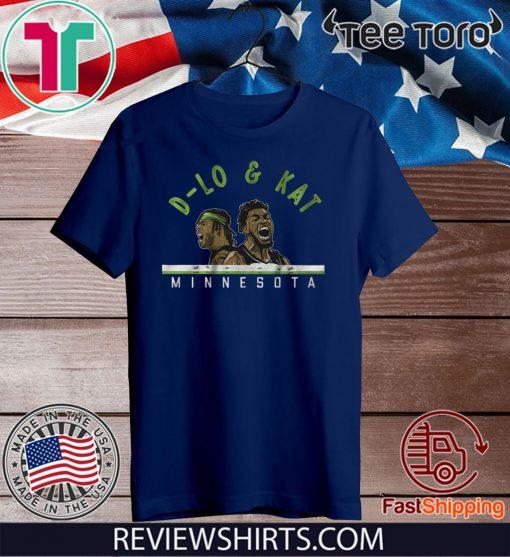 D-Lo and KAT Shirt - Minnesota Basketball 2020 T-Shirt