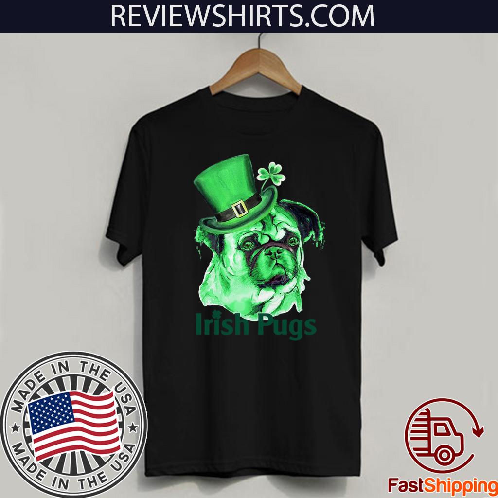 Irish Pugs patrick day Funny T-Shirt