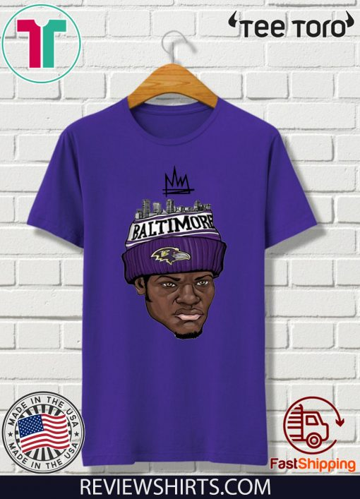 Lamar Jackson King Work Shirt - Baltimove Ravens T-Shirt