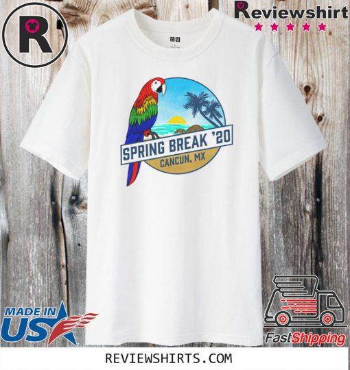 Spring Break 2020 Cancun Tank T-Shirt