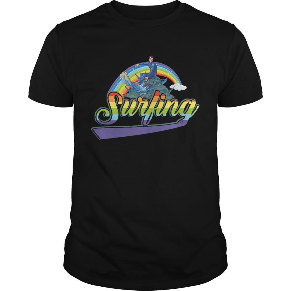 Surfing Rainbow Beach Summer  Unisex