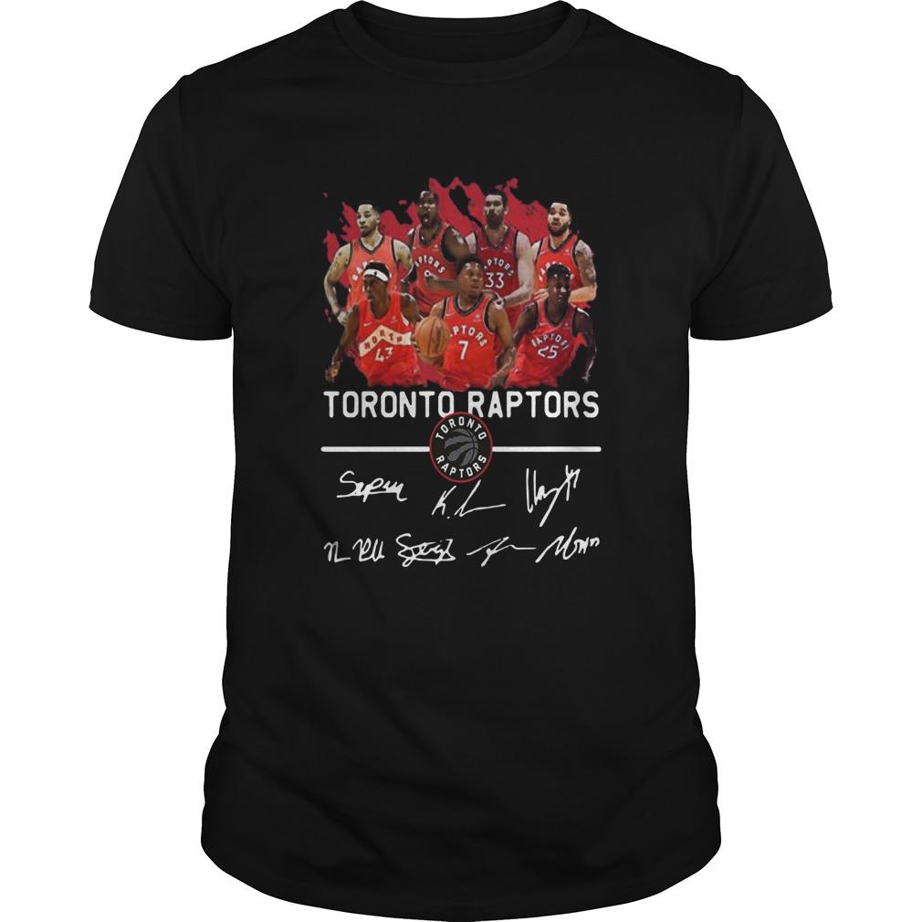 Team Players Toronto Raptors Signatures  Unisex