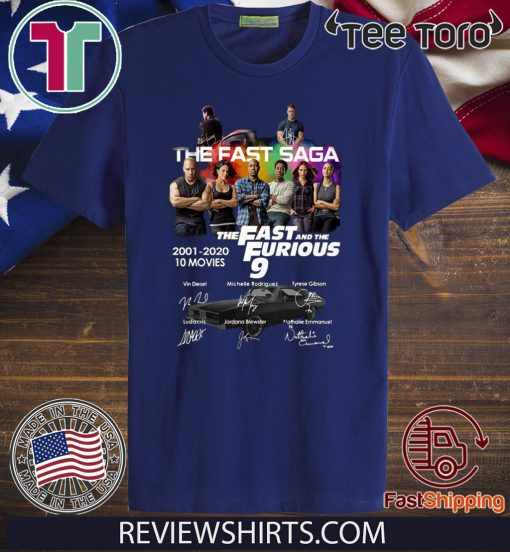 The Fast Saga The Fast And The Furious 9 2020 T-Shirt