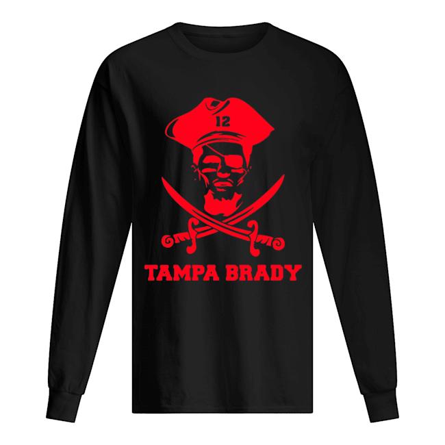 12 Tampa Brady  Long Sleeved T-shirt