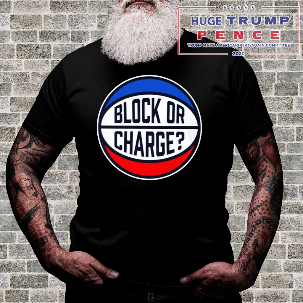 Shop Trump 2020 Block Or Charge Classic T-Shirt