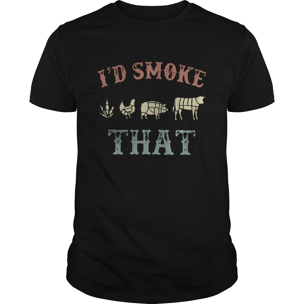 Cannabis Id Smoke That Unisex