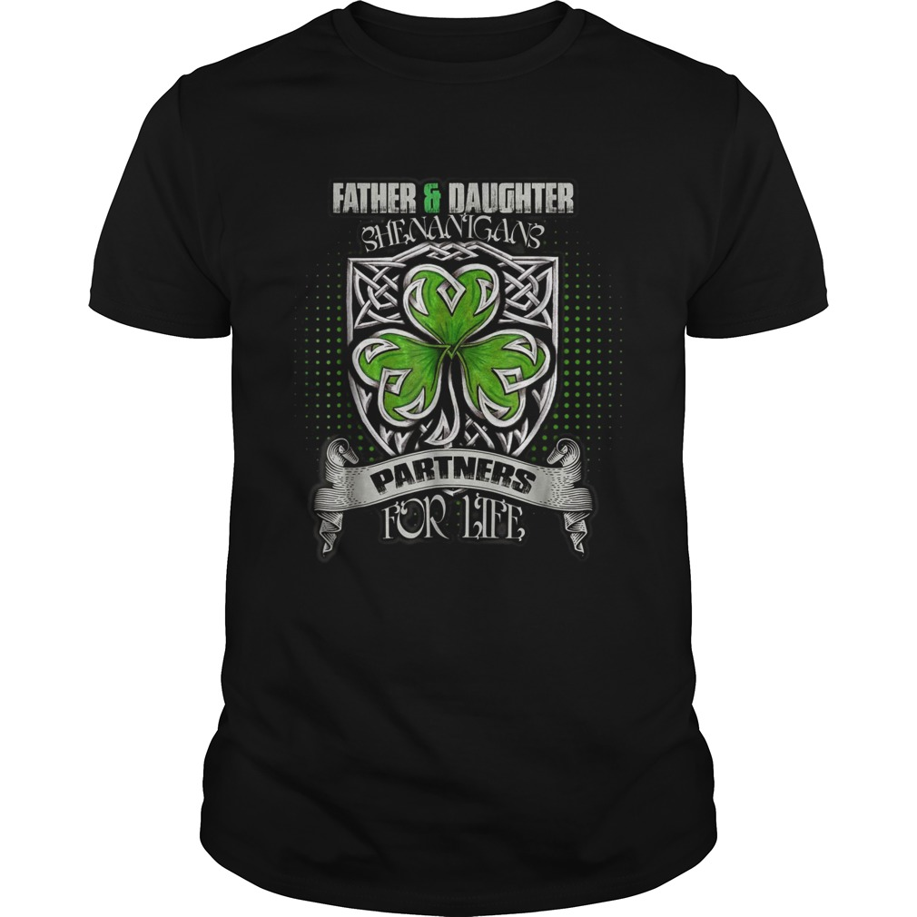 FatherDaughter Shenanigans St Patricks Day  Unisex