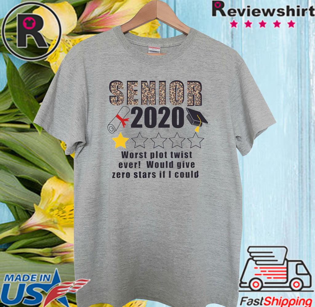Seniors The One Where They Were Quarantined 2020 Tee Shirt
