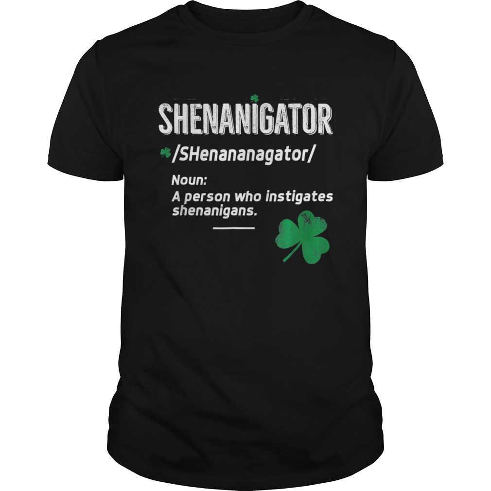 Shenanigator Saint Patricks Unisex