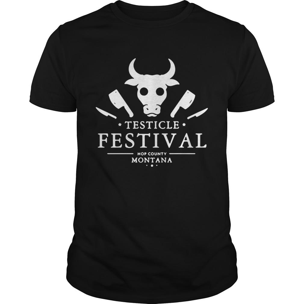 Testicle Festival Hop County Montana Unisex