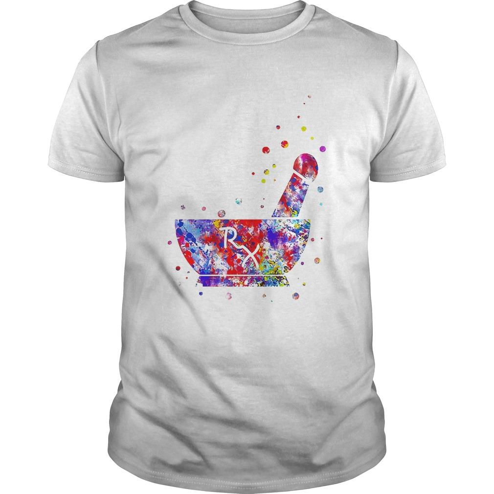 Wonderful Pharmacist Pestle Rx Medical Colorful Unisex