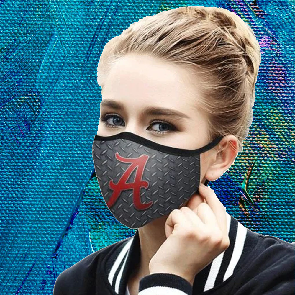 Face Mask Filter PM2.5 Alabama Crimson Tide cloth Face Mask US Face Mask – Adults Mask PM2.5 us