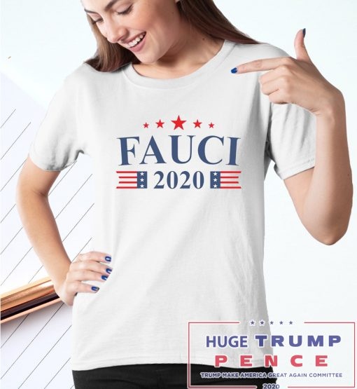 Shop Trump 2020 Anthony Fauci 2020 shirt