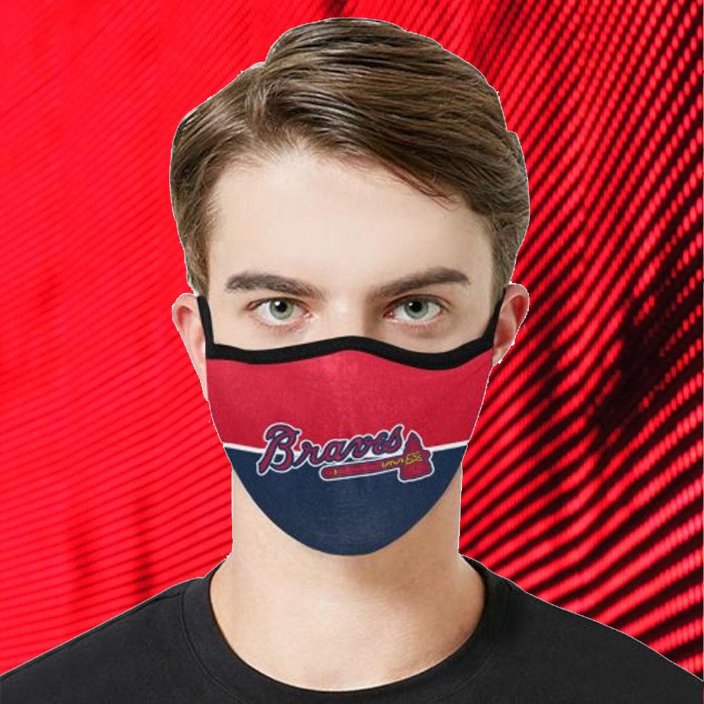 Face Mask Filter PM2.5 Atlanta Braves cloth Face Mask – Adults Mask PM2.5 us