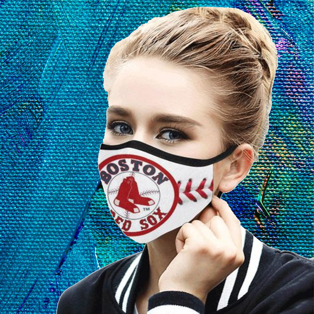 Face Mask Filter PM2.5 Boston Red Sox cloth Face Mask – Adults Mask PM2.5 us