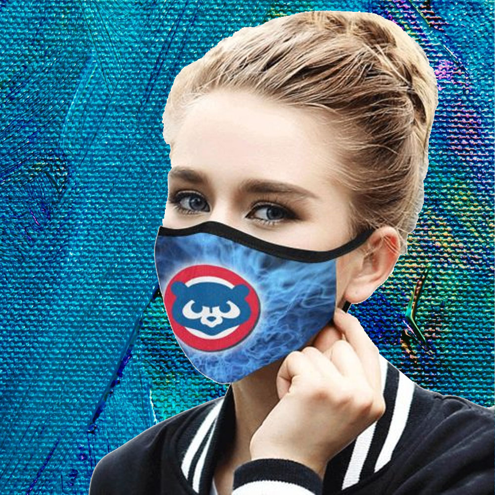 Face Mask Filter PM2.5 Chicago Cubs cloth Face Mask – Adults Mask PM2.5 us