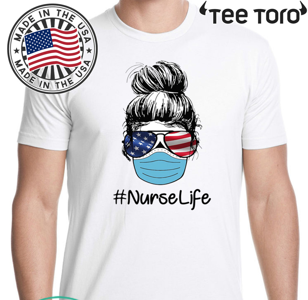 Coffee Scrubs Rubber Gloves #nurselife Tee Shirt