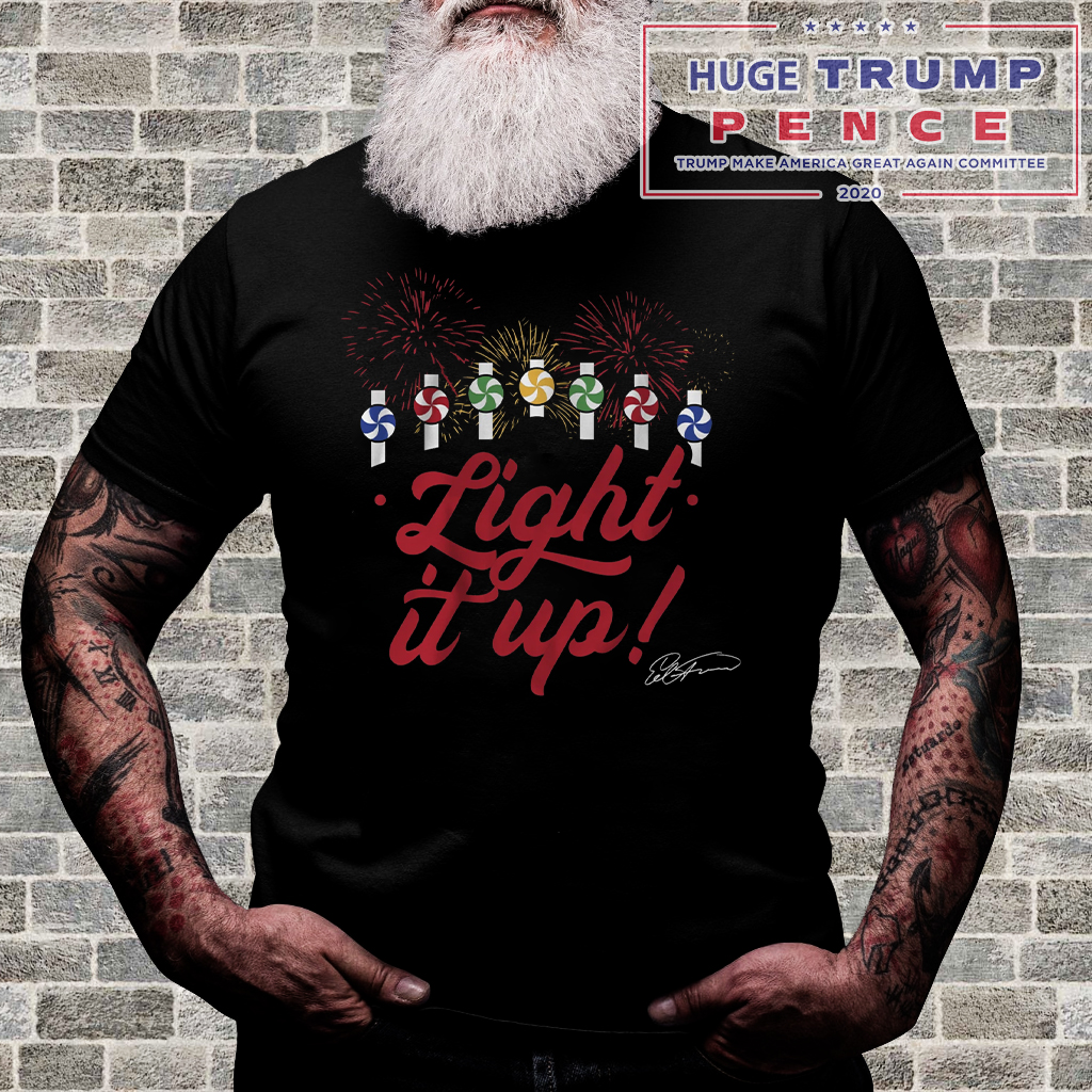 Shop Trump 2020 Ed Farmer Shirt, Light It Up, Chicago shirt