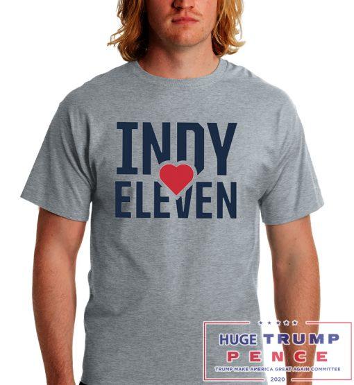 Shop Trump 2020 Indy eleven cares shirt