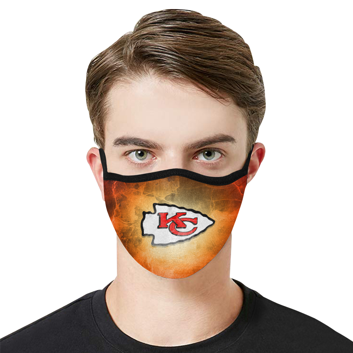 Face Mask Filter PM2.5 Kansas City Chiefs Face Mask Filter PM2.5