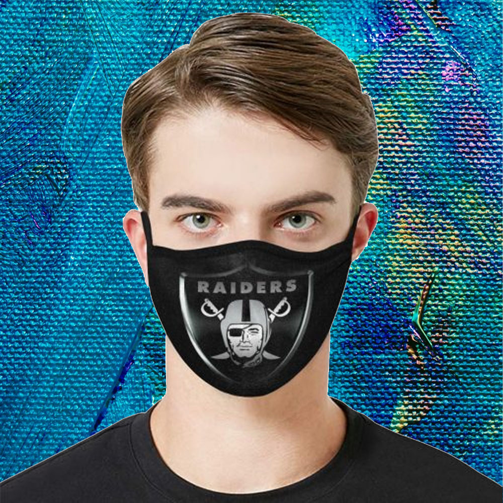 Face Mask Filter PM2.5 Las Vegas Raiders cloth Face Mask – Adults Mask PM2.5 us