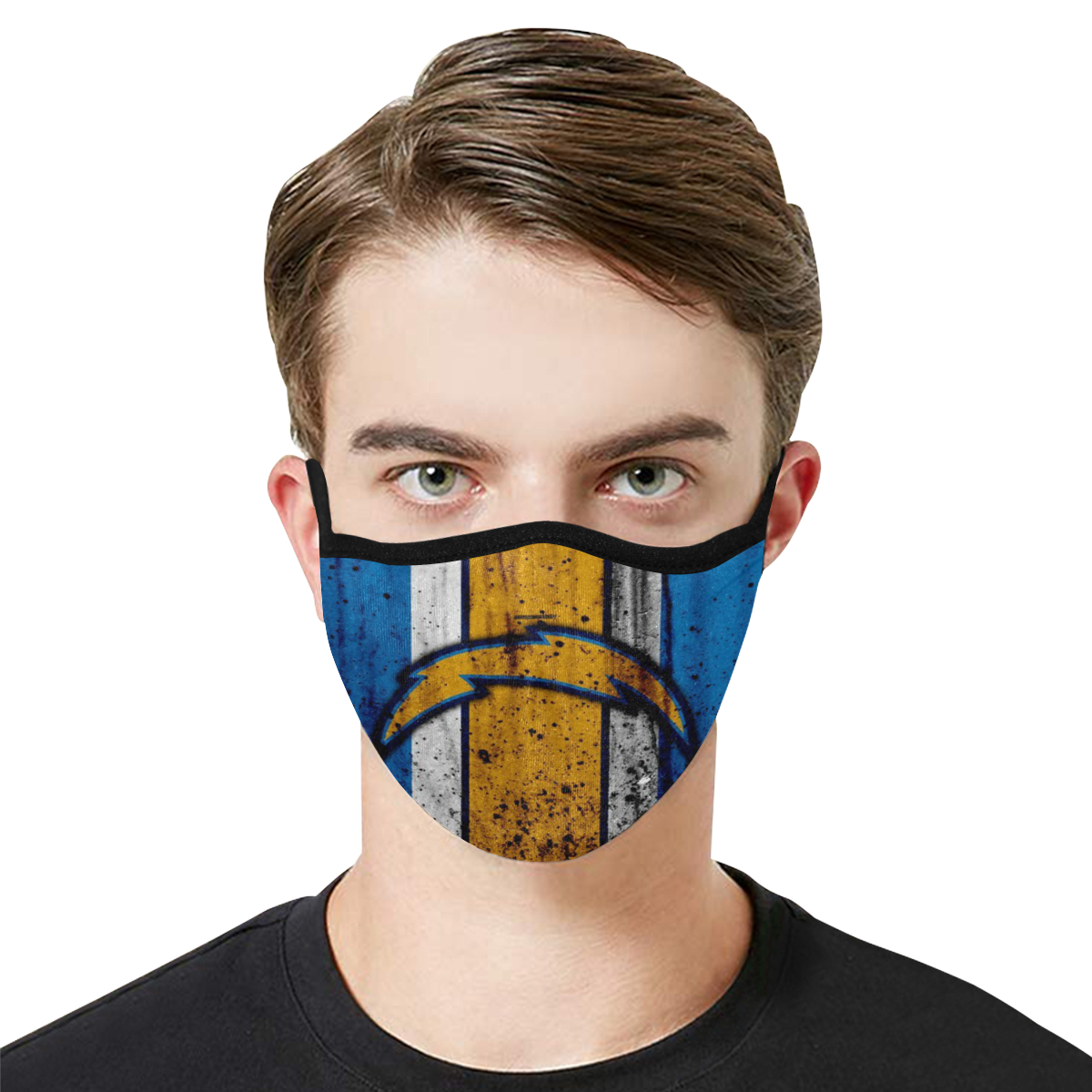 Face Mask Filter PM2.5 Los Angeles Chargers Face Mask