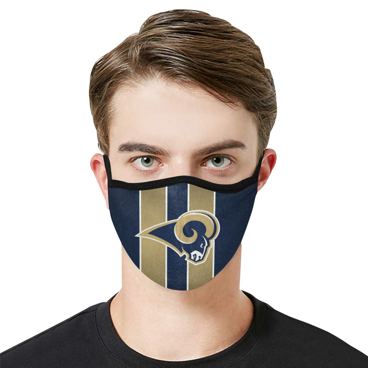 Face Mask Filter PM2.5 Los Angeles Rams Face Mask