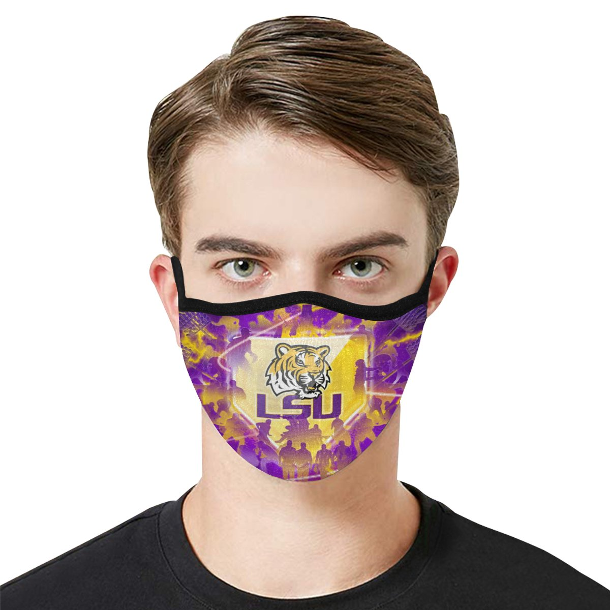 Face Mask Filter PM2.5 LSU Tigers football Face Mask Filter PM2.5