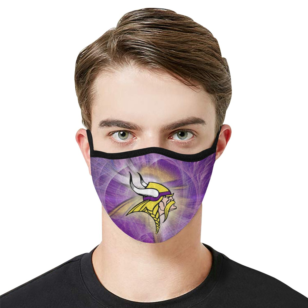 Face Mask Filter PM2.5 Minnesota Vikings Face Mask Filter PM2.5