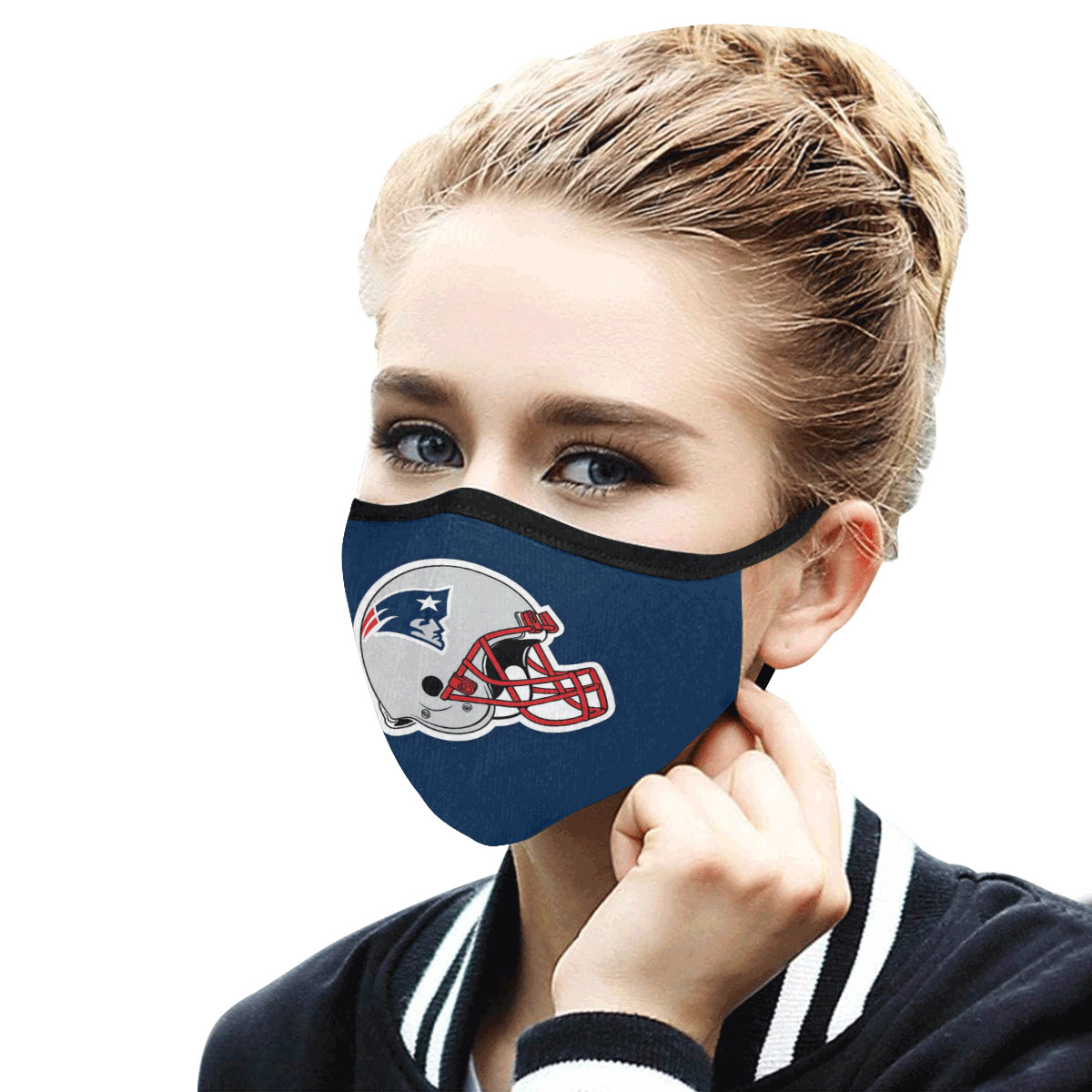 Face Mask Filter PM2.5 New England Patriots Face Mask Filter PM2.5