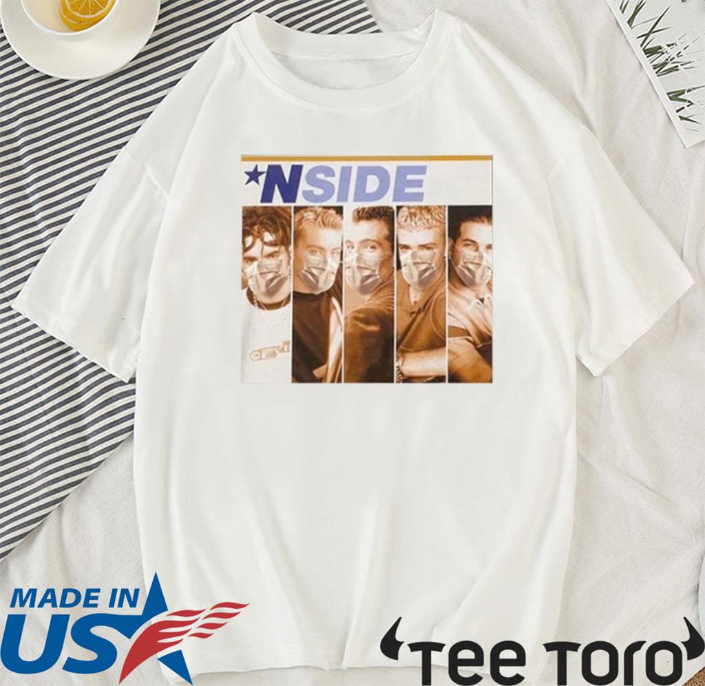 *NSIDE Shirt, NSYNC - NSYNC Masks Shirt T-Shirt