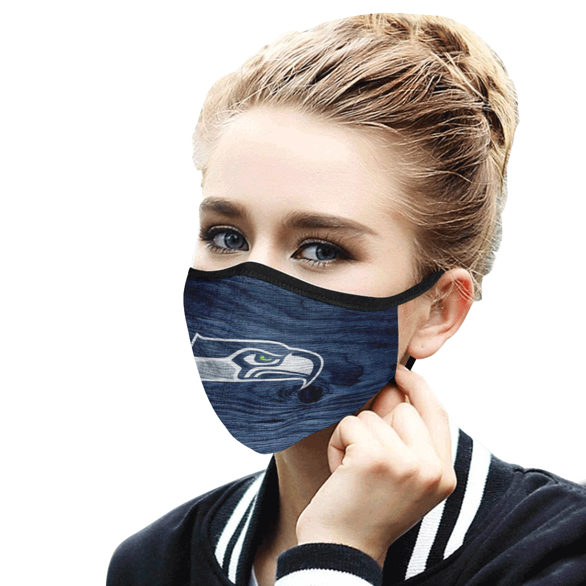 Face Mask Filter PM2.5 Seattle Seahawks Face Mask Filter PM2.5