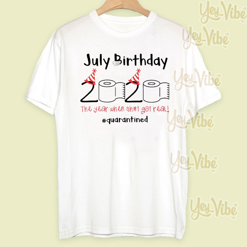 Shop Trump 2020 Toilet Paper 2020 July Birthday quarantine July t shirt