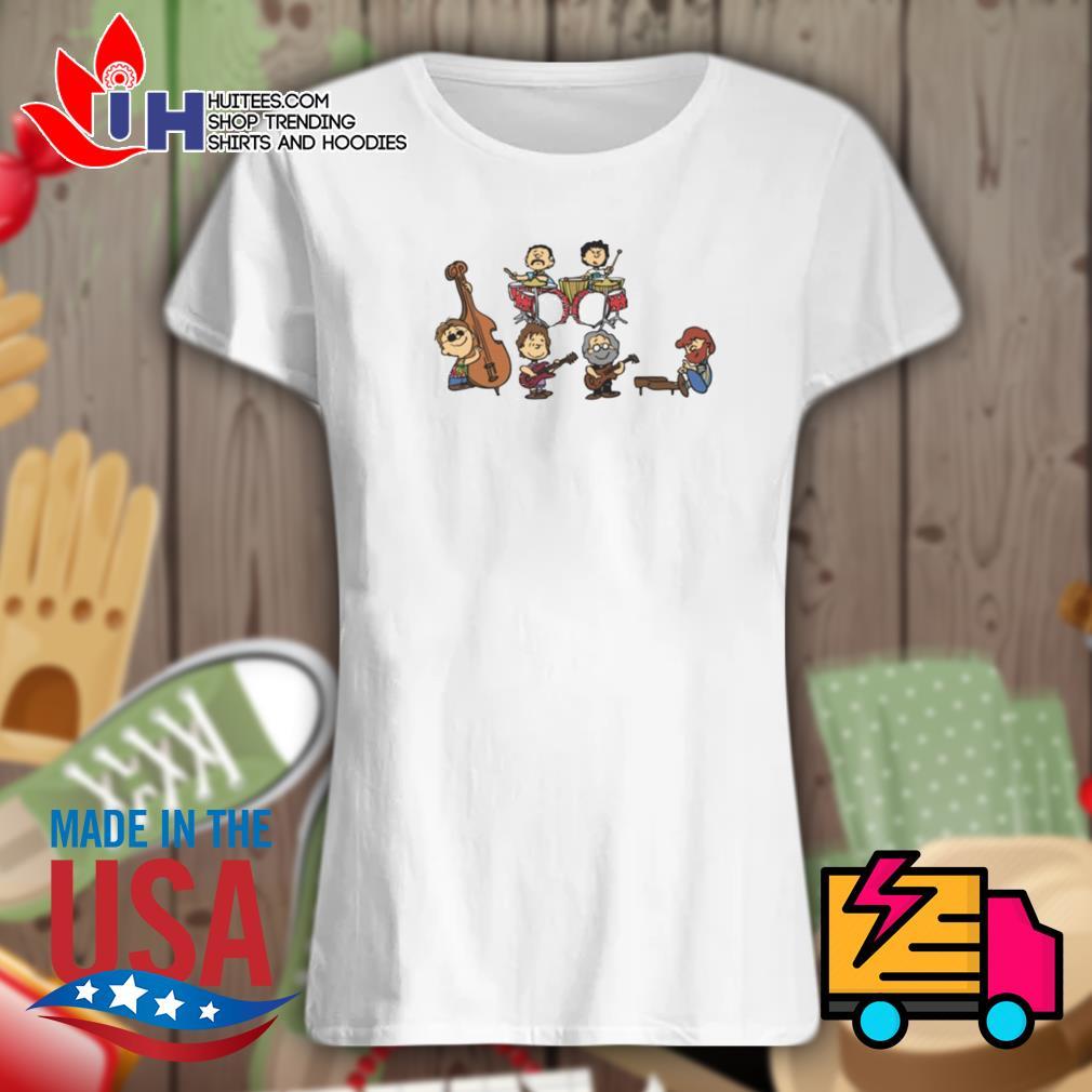 Peanuts meet the Dead s Ladies t-shirt