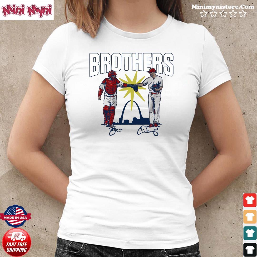 Wainwright and Molina Brothers Apparel St Louis Shirt