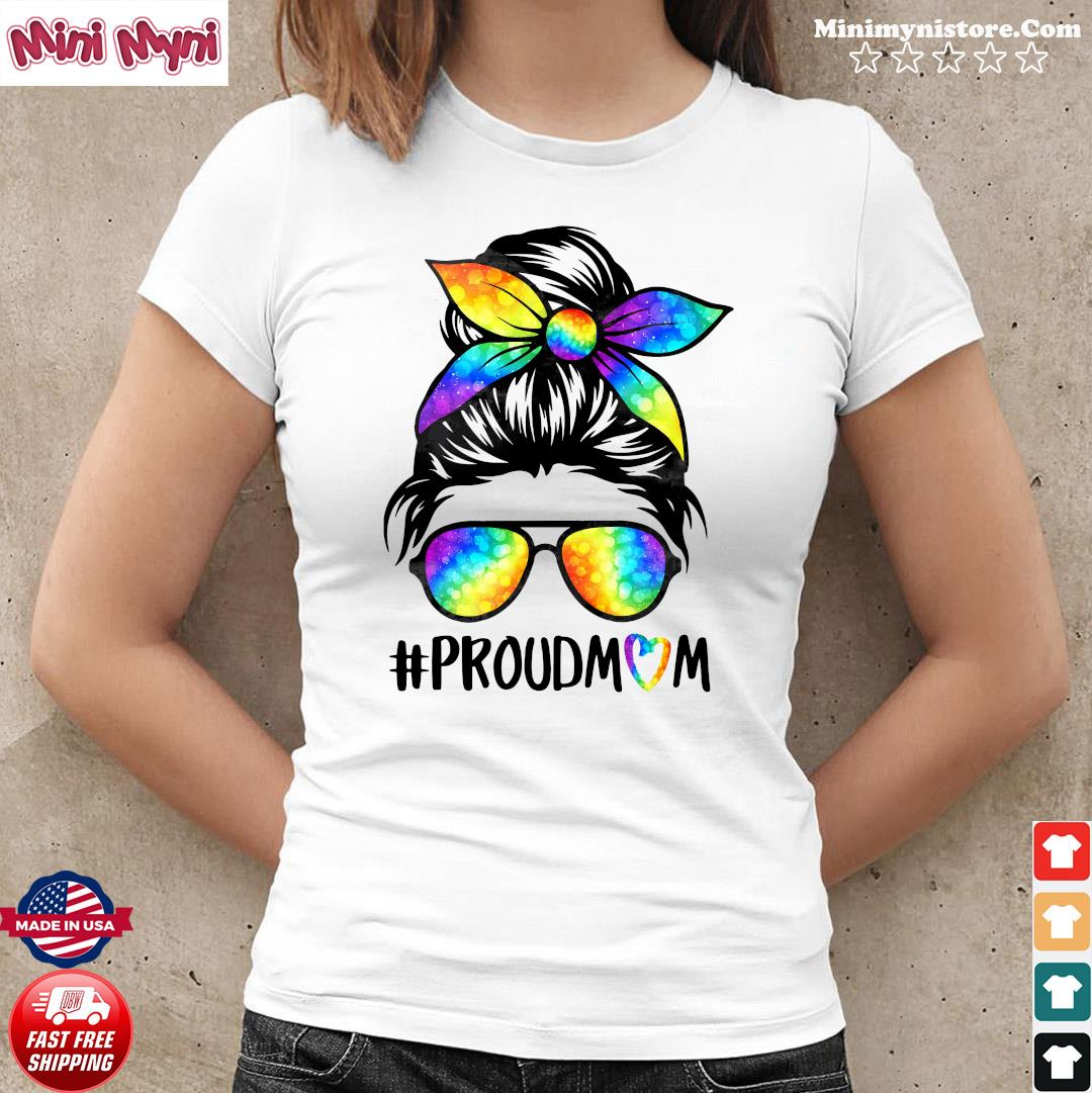 The Girl Proud Mom Shirt
