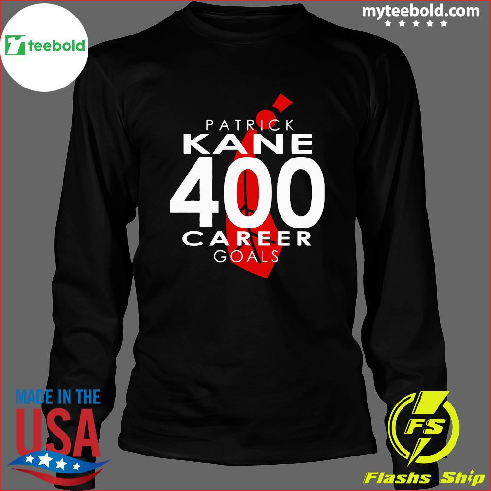 The Patrick Kane 400 Career Goals Shirt Long Sleeve