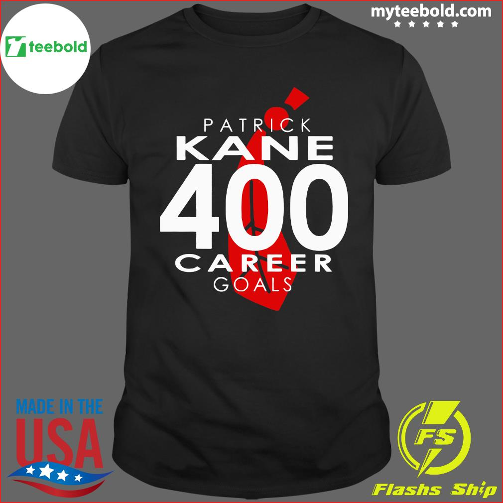 The Patrick Kane 400 Career Goals Shirt
